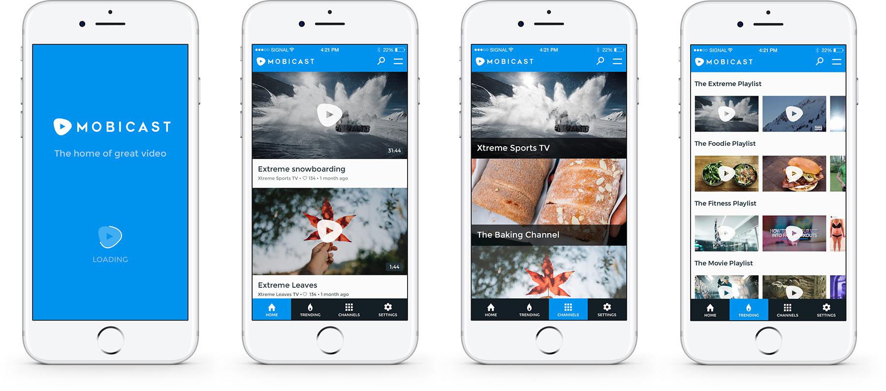 Mobicast Mobile App